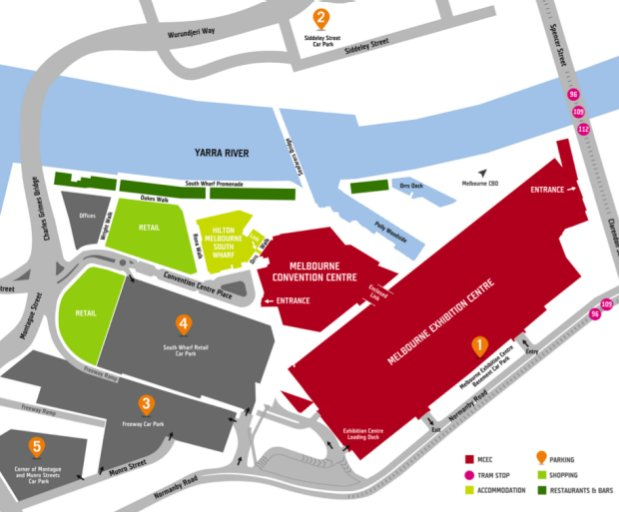Energy-Efficiency-Expo-2019-getting-there-venue-parking-map